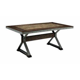 Williston Forge Mcconnell Retro Wooden Di..