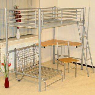 Single High Sleeper Loft Bed By Isabelle & Max