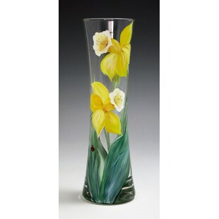 Yellow vases youll love wayfair selena daffodil vase mightylinksfo