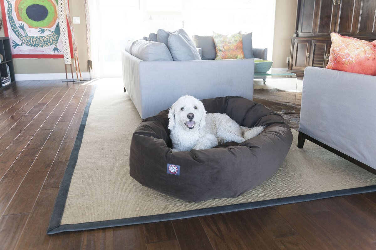 Sofa Beds For Big Dogs Dog Bed With Sides Dog Beds Four Styles - Overstuffed luxury sofa dog bed