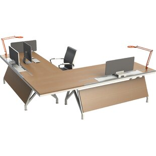 Eyhov Rail Workstation L-Shape Computer Desk