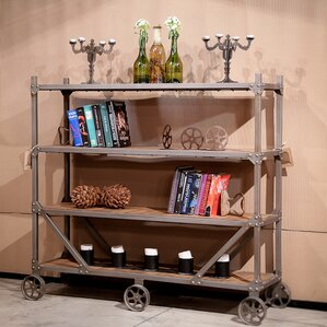 Stationary Bar Cart by REZ Furniture
