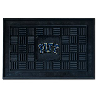 NCAA University of Pittsburgh Medallion Door Mat By FANMATS
