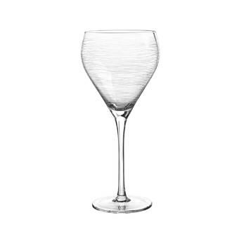 Charlton Home Heffron Extra Large Non Leaded 31 Oz Crystal Stemmed Wine Glass Wayfair