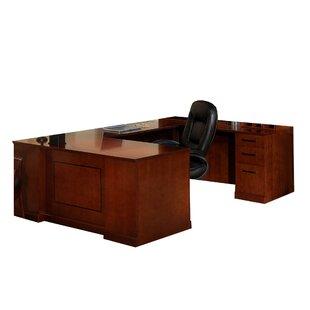 Sorrento Series U-Shape Desk Office Suite