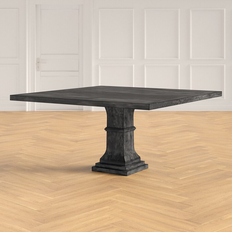 Tavernia Solid Wood Square Dining Table