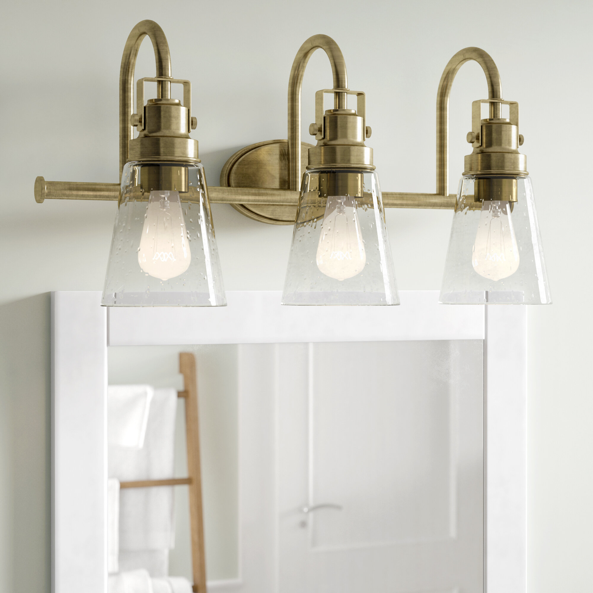 shades young with brass vanity bronze lamp house bubble of light brushed love products