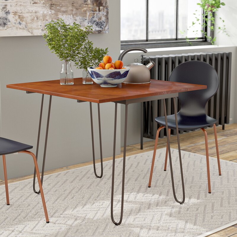 Wrought Studio Parikh Drop Leaf Dining Table & Reviews | Wayfair