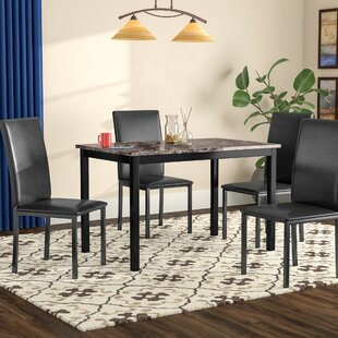 Noyes 5 Piece Dining Set by Red Barrel Studio Modern