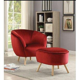 Gilkey Barrel Chair by Everly Quinn