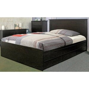 Drinnon Deluxe Bed with 6 Drawer by La..