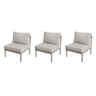 TK Classics Carlisle Patio Chair with Cus..