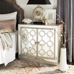 Everly Quinn Heanue 2 Doors Accent Cabinet