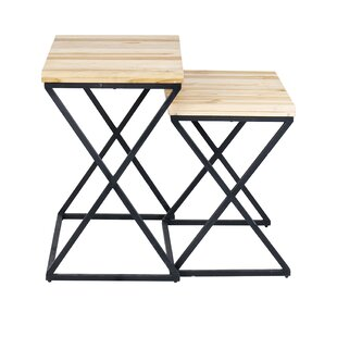 Preesall 2 Piece Nesting Tables