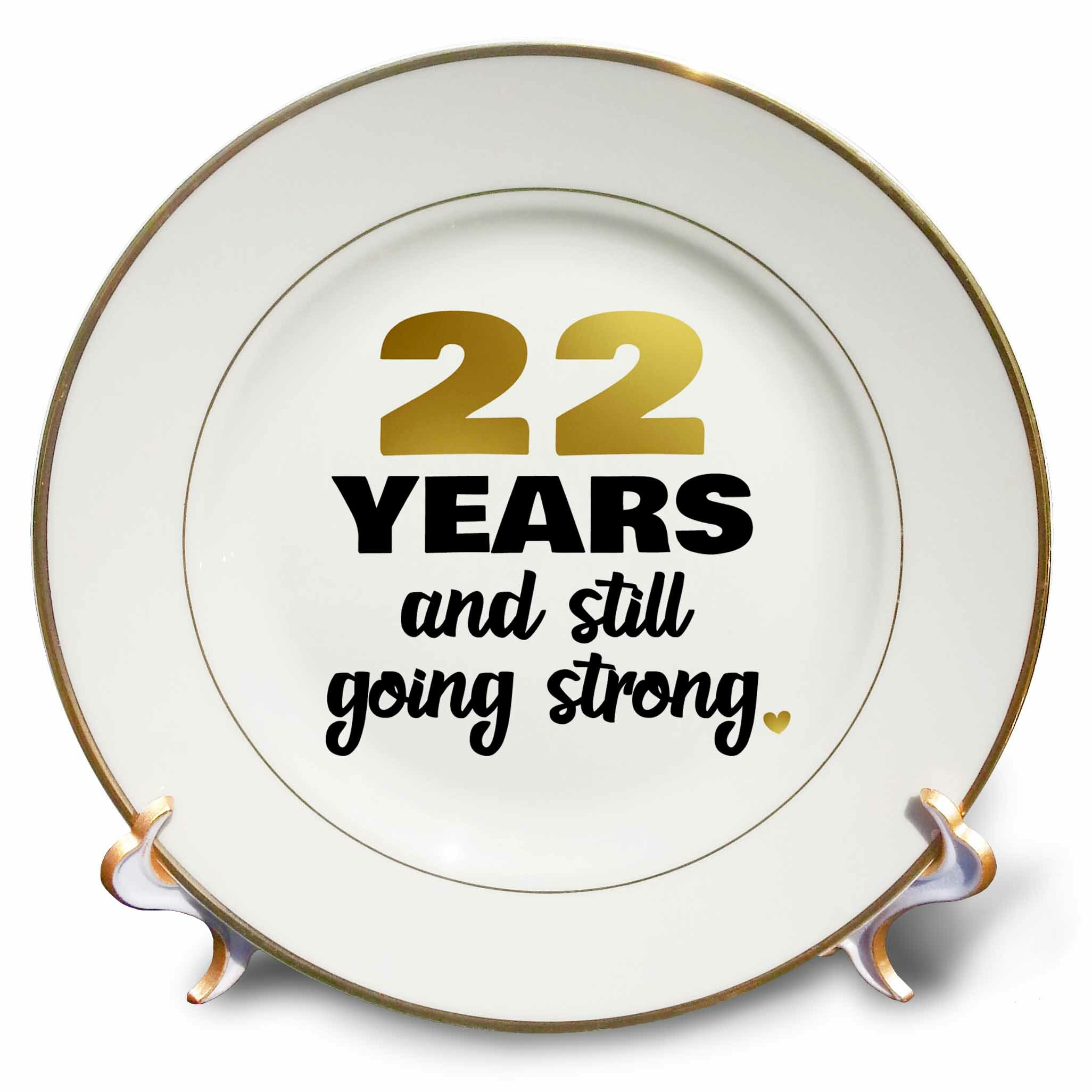 22nd Wedding Anniversary Gift Ideas: East Urban Home 22 Year Anniversary Still Going Strong