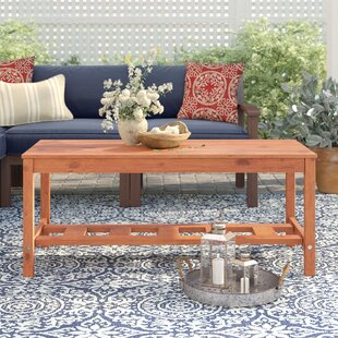 Tim Ladder Base Patio Coffee Table