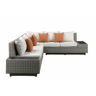 Platt Patio Sectional with Cushions