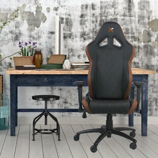 Ferrino Line Diamond Patterned Gaming Chair by RapidX #2