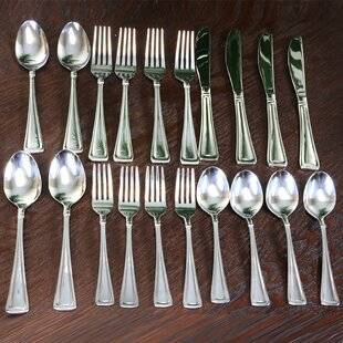Buckingham 20 Piece Flatware Set, Service for 4
