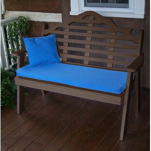 Coury Plastic Garden Bench