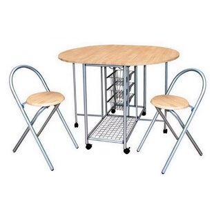 3 Piece Traci Dining Table Set By 17 Stories