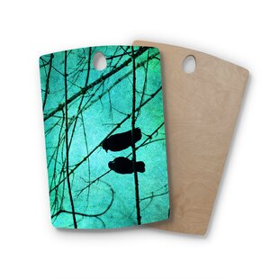 Robin Dickinson Birchwood Smitten Cutting Board By East Urban Home