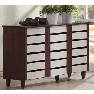 Reviews 14-Pair Shoe Storage Cabinet By Brayden Studio