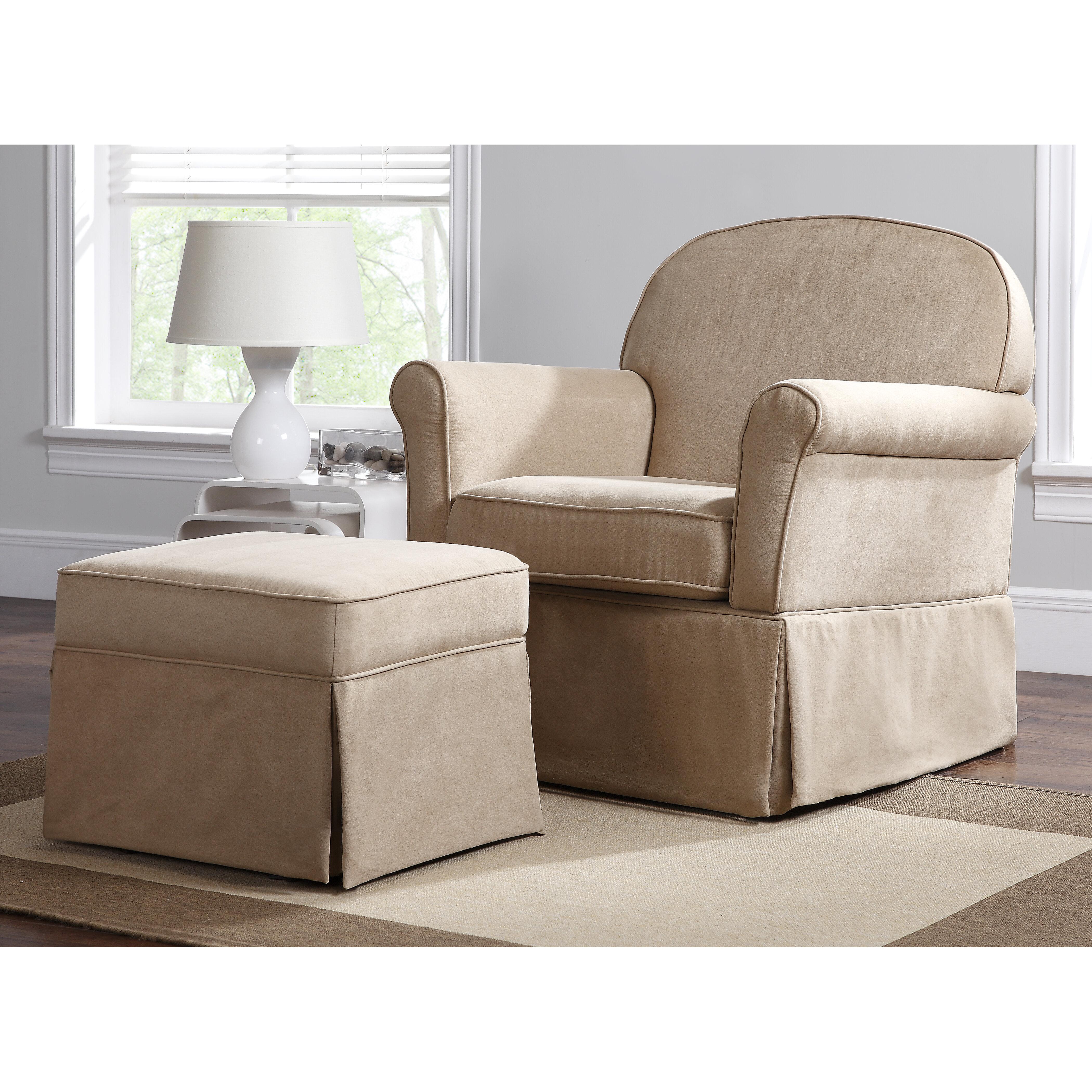 Surprising Polly Swivel Glider Ottoman Cjindustries Chair Design For Home Cjindustriesco