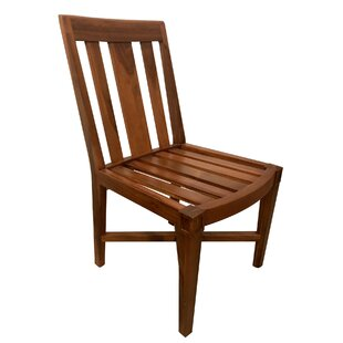 Red Barrel Studio Karlstad Classic Oiled Teak Patio Dining Chair