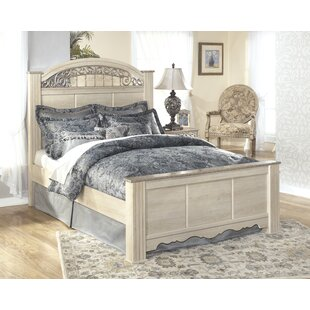 Emely Panel Bed by Ophelia & Co.