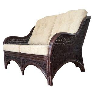 Karmen Rattan Wicker Loveseat By Rattan Wicker Home Furniture