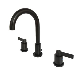Best Choices NuvoFusion Widespread Bathroom Faucet with Drain Assembly By Kingston Brass