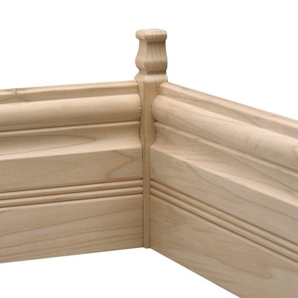 Ornamental Mouldings Hardwood Inside Base Connector Floor Moulding 6 75 H X 0 88 W X 0 88 D Corner Molding Wayfair