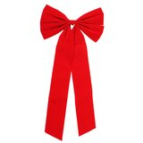 """4 Red Velvet Christmas 9 Loops Holiday Living Decorative Bows18/"""" x 9/"""" New"""