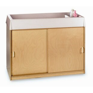 Changing and Storage Cabinet with Easy-Wash Top by Whitney Brothers