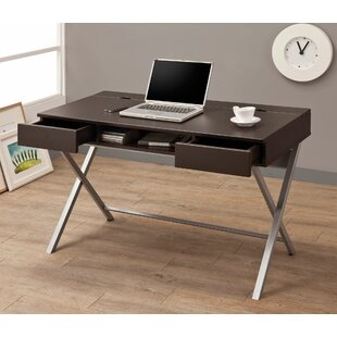 Baney 2 Drawer Writing Desk by Ebern Designs