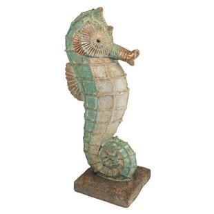 Isla Seahorse Statue Wayfair