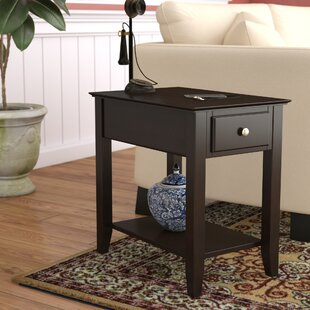 Hadley End Table with Storage