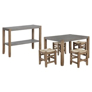 Aston 6  Piece Counter Height Dining Set