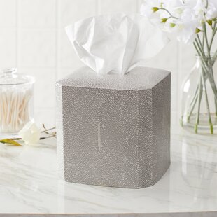Birch Lane™ Hewitt Porcelain Tissue Box Cover
