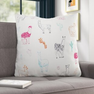 Karmine Llama Throw Pillow