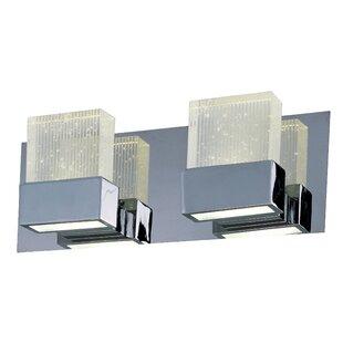 Orren Ellis Diphda 2-Light LED Bath Bar