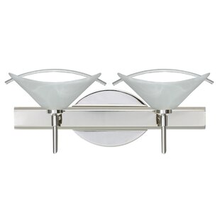 Besa Lighting Hoppi 2-Light Vanity Light