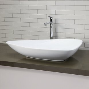 DECOLAV Classically Redefined Ceramic Specialty Vessel Bathroom Sink