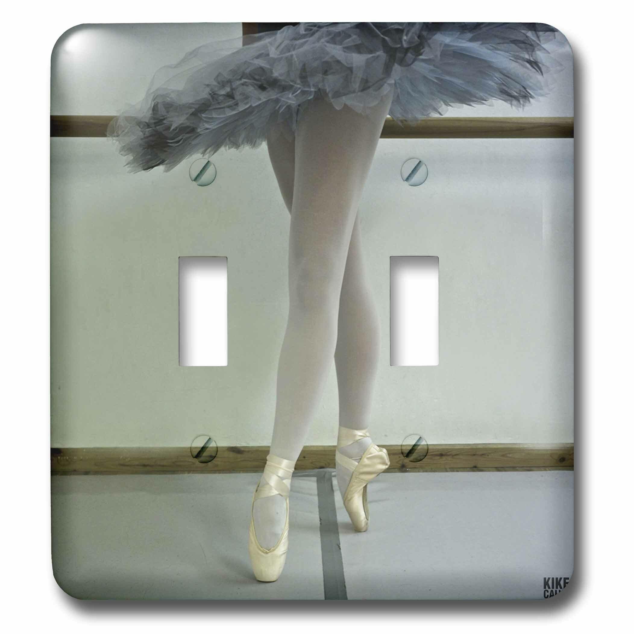 3drose Spanish Dancer Is Training At The Ballet School 2 Gang Toggle Light Switch Wall Plate Wayfair