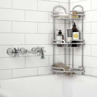 Great deal Earnhardt 3 Tier Corner Shower Caddy By Rebrilliant