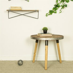 Pieper End Table by Gracie Oaks