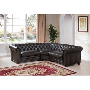 Altura Leather Modular Sectional