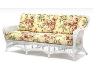 Sommerwind Sofa With Cushions by Woodard Wonderful