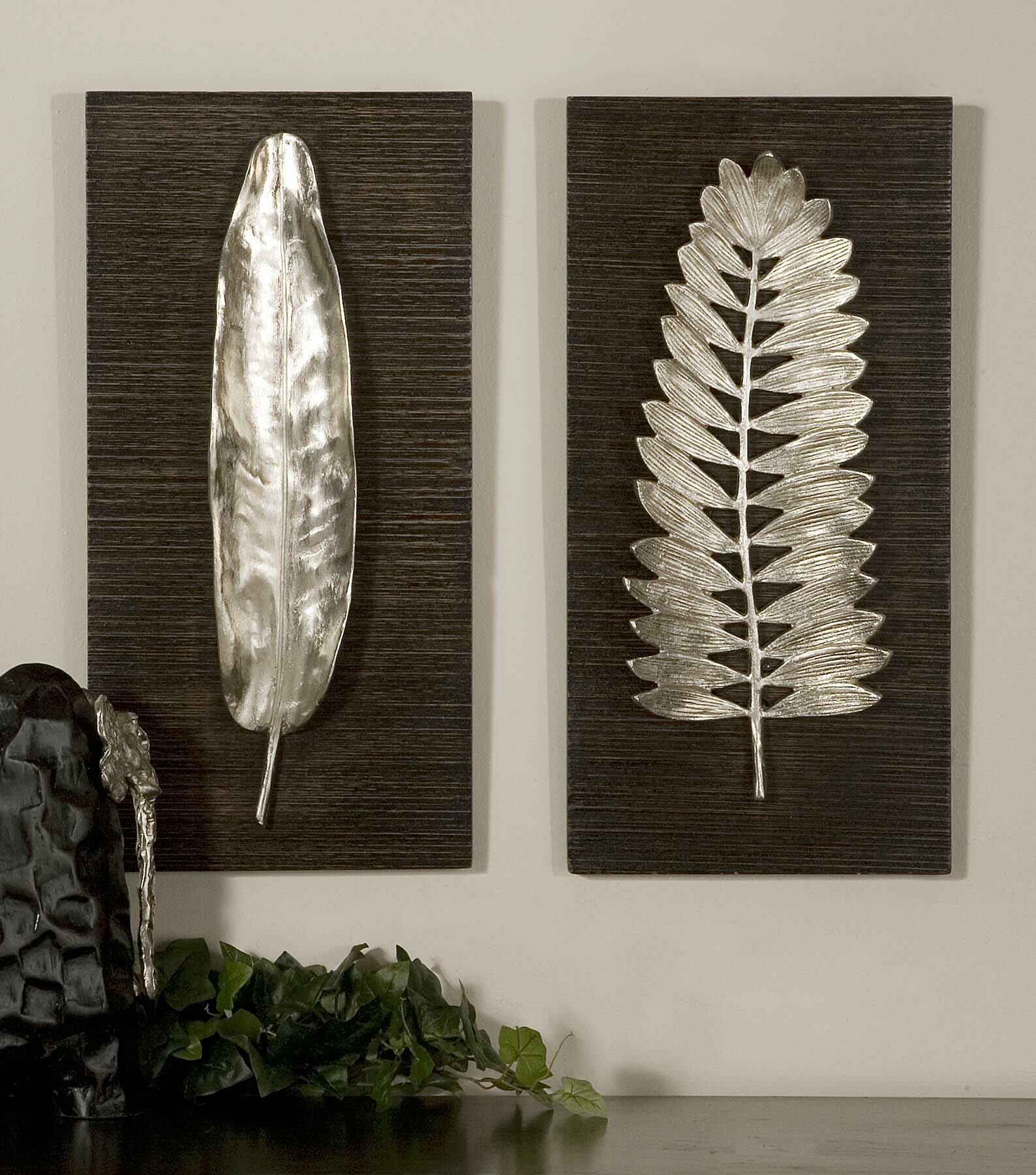 Wrought Studio Eastlake 2 Piece Wall Decor Set Reviews Wayfair